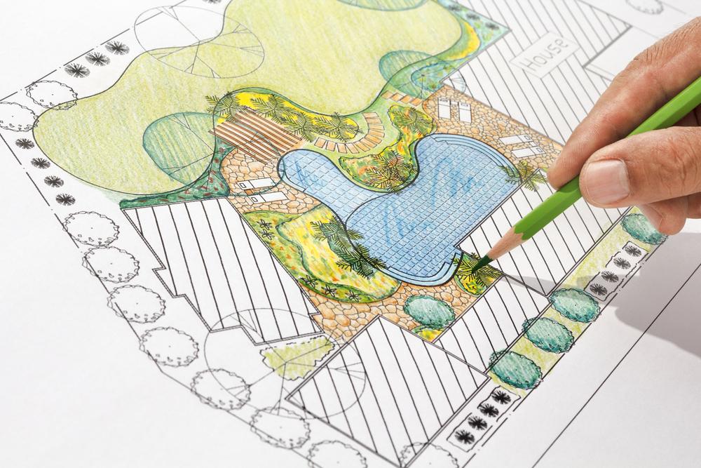 conception plan de jardin